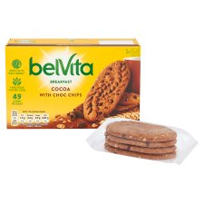 image 2 of Belvita Chocolate Chip Biscuits 225G