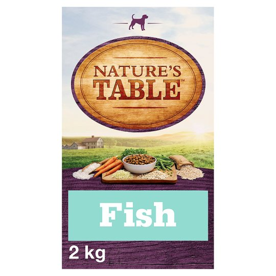image 1 of Nature's Table Sustainable Fish Dry Dog Food 2Kg