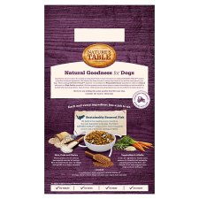 image 3 of Nature's Table Sustainable Fish Dry Dog Food 2Kg
