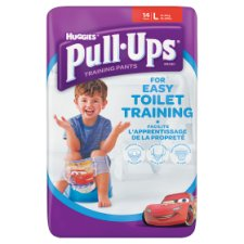 Huggies Pull Ups Boy Large 14 Pack
