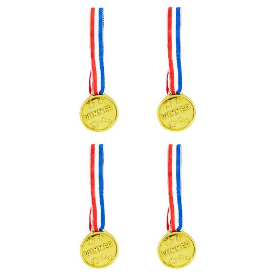 Tesco Winner Medals 4 Pack