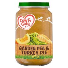 Cow & Gate Stage 2 Pea And Turkey Pie 200G Jar