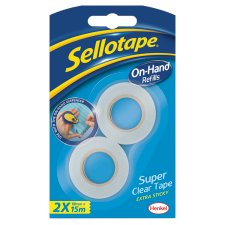Sellotape On Hand Dispenser Refill Pack
