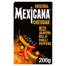 Mexicana Original Hot Cheddar Cheese Chilli 200 G