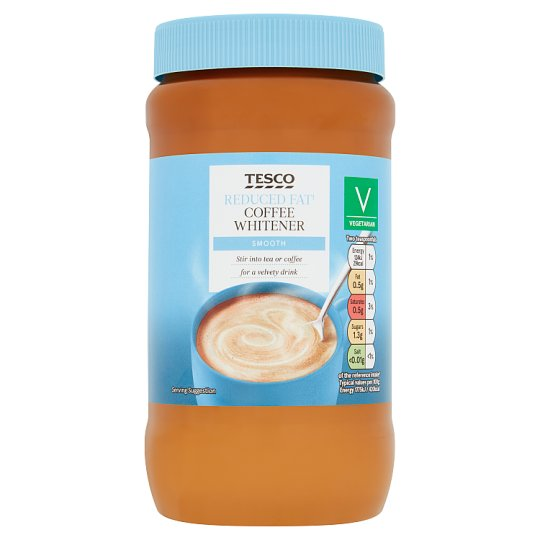 Tesco Reduced Fat Coffee Whitener 460G