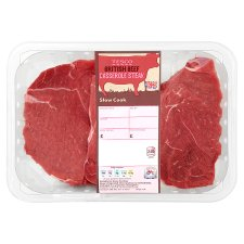 Tesco Beef Casserole Steak 500G
