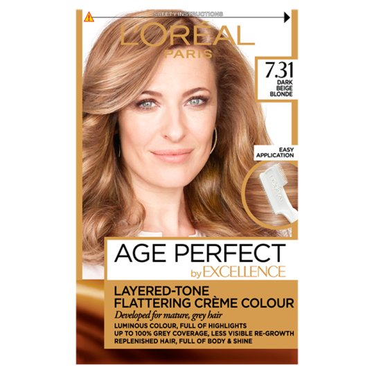 image 1 of Lorealexcellence Age Perfect Dark Beige Blonde7.31