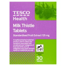 Tesco Milk Thistle 30S