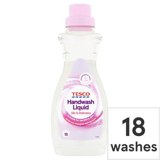 Tesco Silk And Delicates Handwash 750Ml