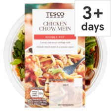 Tesco Snack Pot Chicken Chow Mein 280G