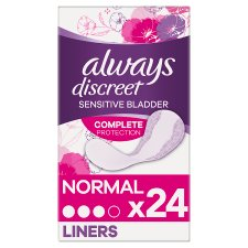 Always Discreet Incontinence Liners 24 Pack