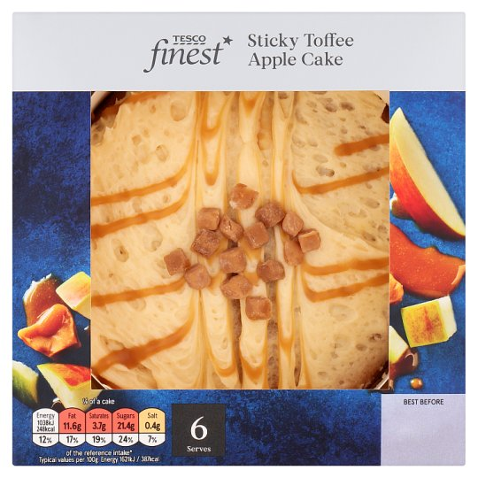 Tesco Finest Sticky Toffee Apple Cake