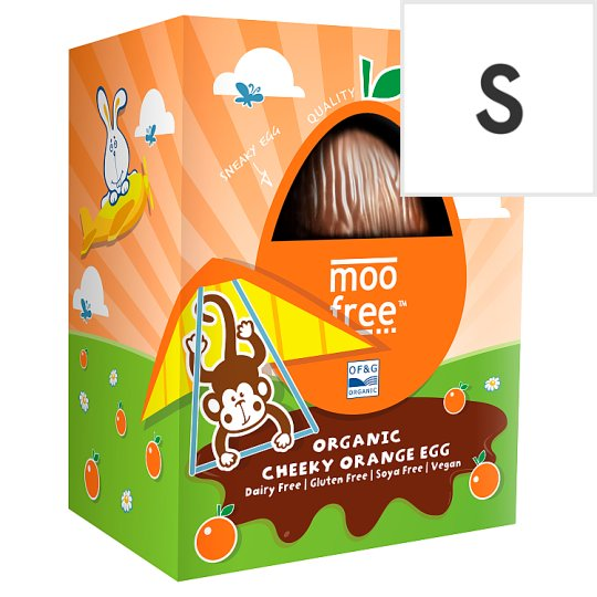 Moo Free From Cheeky Orange Easter Egg 110G