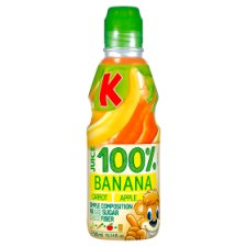 Kubus 100% Banana Carrot Apple 300Ml