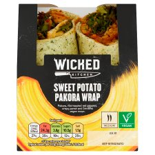 Wicked Kitchen Sweet Potato Pakora Wrap