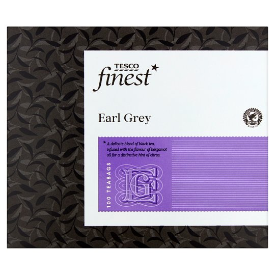 Tesco Finest Earl Grey 100 Teabags 250G