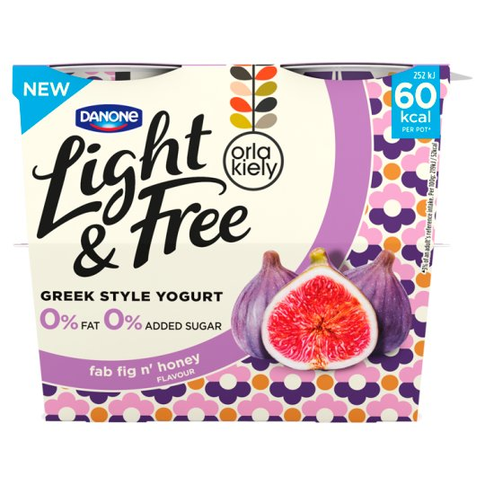 image 1 of Danone Light And Free Pomaberry Yogurt 4X115g