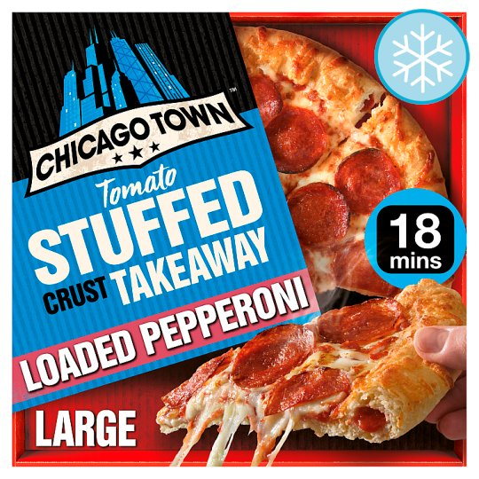 Chicago Town Large Takeaway Pepperoni 645G