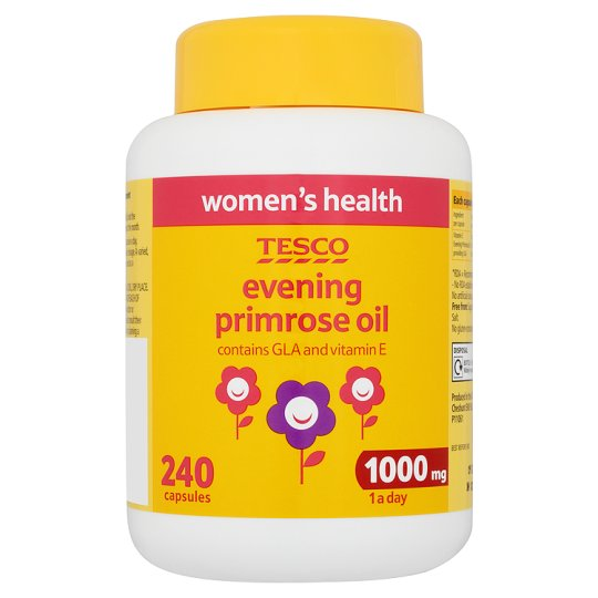 Tesco Evening Primrose Oil 1000Mg X 240