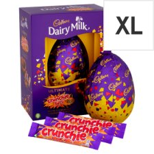 Cadbury Crunchie Chocolate Egg 570G