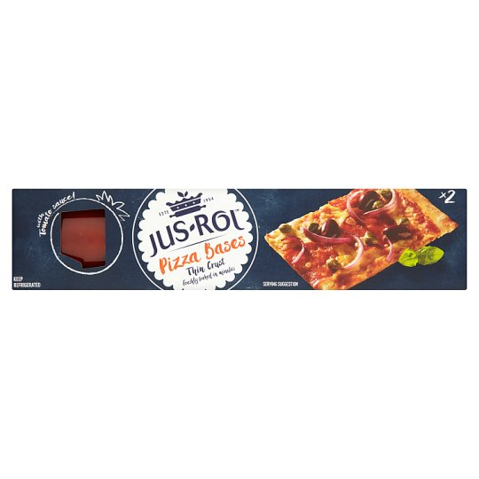 Jus Rol Recipes Pizza Jus-rol Bake it Fresh Pizza