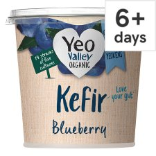 Yeo Valley Kefir Blueberry And Lime Yogurt 350G