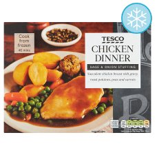 Tesco Classic Chicken Dinner 400G