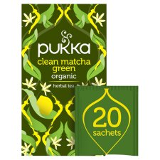Pukka Organic Clean Green 20 Tea Bags 30G