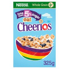 image 1 of Nestle Cheerios Oat Low Sugar Cereal 325G