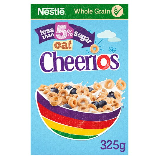 Nestle Cheerios Oat Low Sugar Cereal 325G