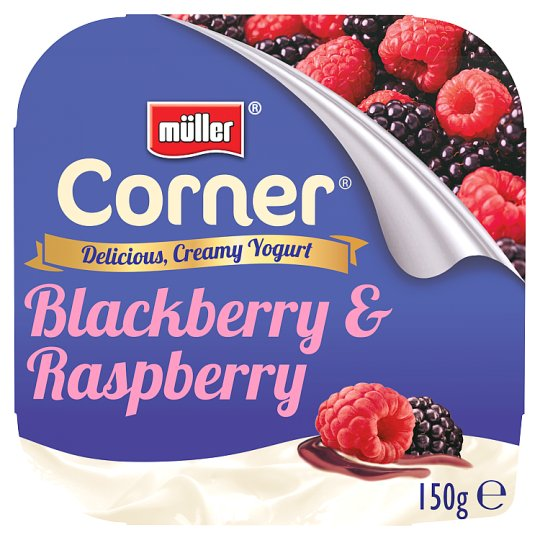 Muller Corner Blackberry Raspberry Yogurt 150G