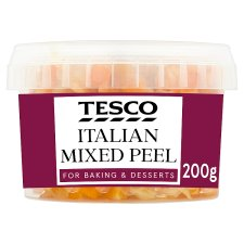 Tesco Italian Mixed Peel 200G