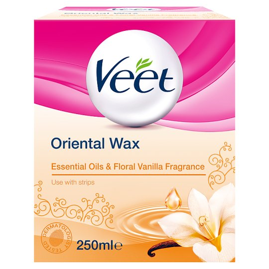 Veet Warm Wax Jar 250Ml