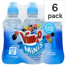 Vim20 Water 6 Pack 250Ml