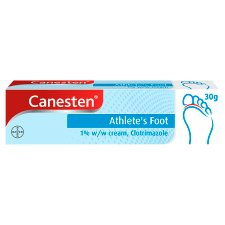Canesten Athletes Foot Cream 30G