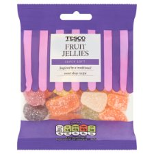 Tesco Fruit Jellies Sweets 200G
