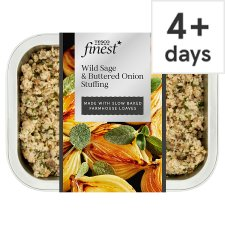 Tesco Finest Wild Sage And Buttered Onion Stuffing 225G