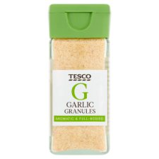 Tesco Garlic Granules 56G