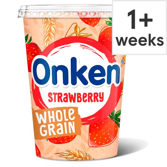 Onken Wholegrain Strawberry Yogurt 450G