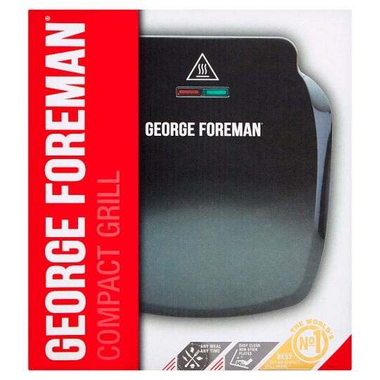 George Foreman 23400 Grill 2Ptn Compact