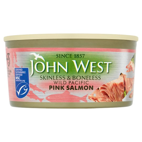 John West Pink Salmon Skinless And Boneless 170G