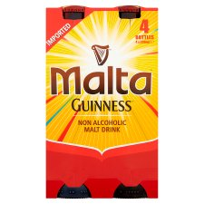 Malta Guinness Imported Nigeria Drink 4 X 330Ml