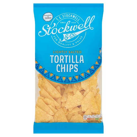 Stockwell And Co Lightly Salted Tortilla 200G