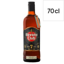 Havana Club 7 Year Old Dark Rum 70Cl