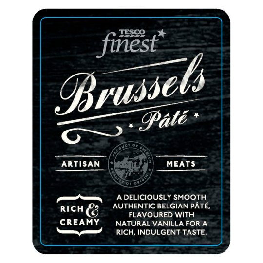 Tesco Finest Brussels Pate 160G