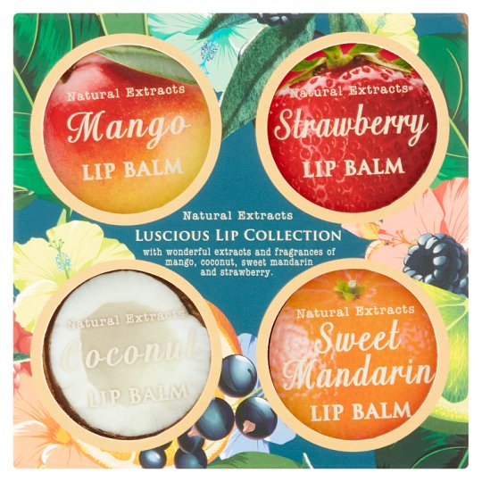 Natural Extracts Luscious Lip Collection