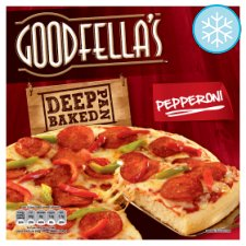 Goodfella's Deep Pan Pepperoni Pizza 419G
