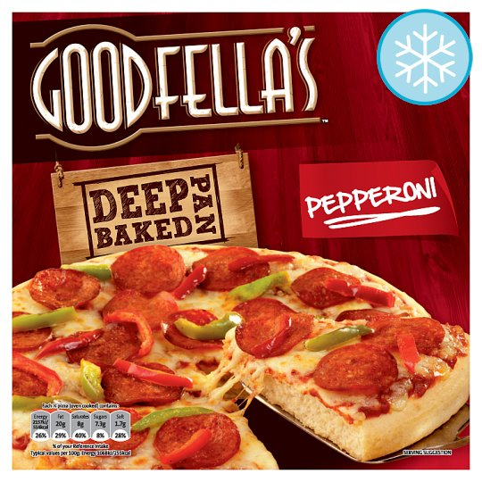 Goodfella's Deep Pan Baked Pepperoni 419G