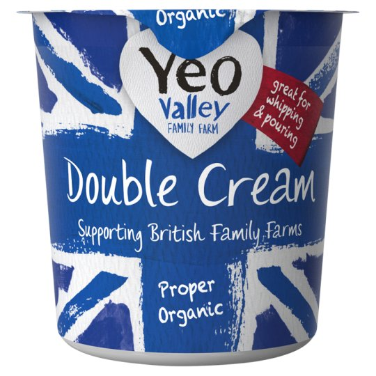 Yeo Valley Organic Double Cream 227Ml