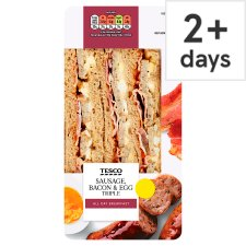 Tesco Sausage Bacon & & Egg Triple